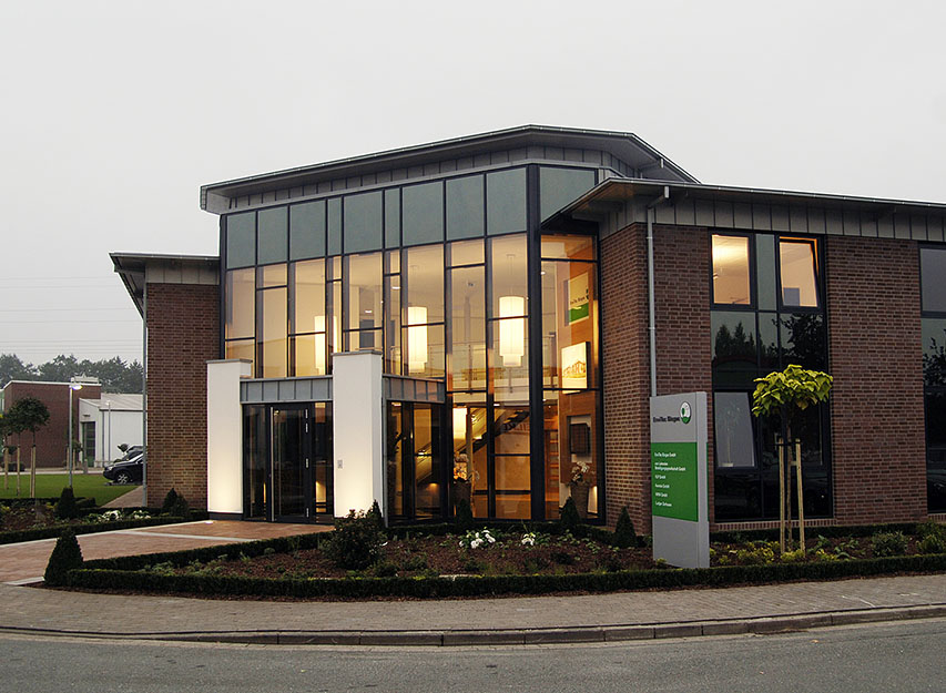 Our company headquarter in Lohne, Germany.